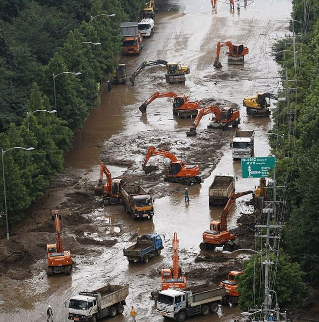 Южная Корея после грозы (14 фото + видео)