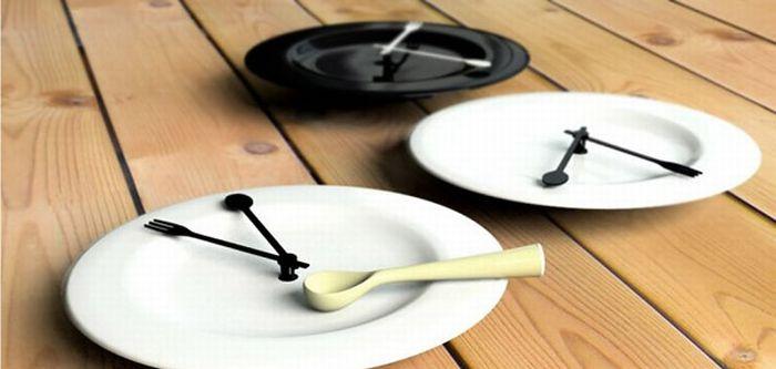 Дизайнерские настенные часы (40 фото)