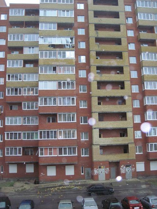 Как построили дом в Пензе (5 фото)