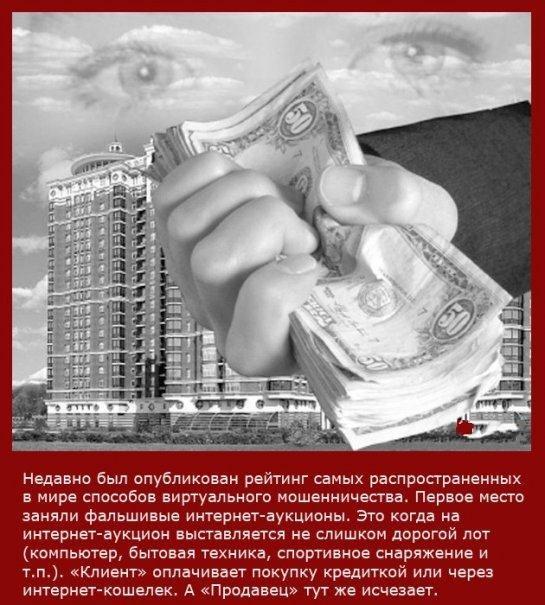Интересные факты в картинках о мошенниках (21 Фото)