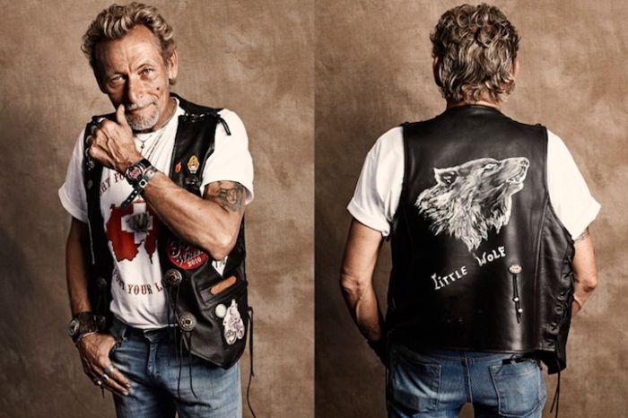 Портреты байкеров (16 фото)