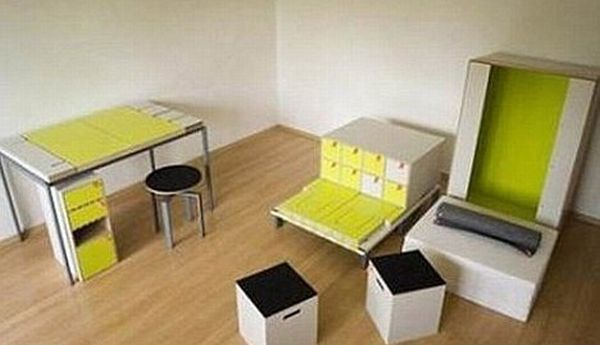 Мебель в коробке (7 фото + видео)