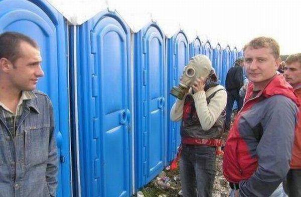 Туалетные приколы (29 фото)