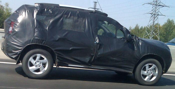Тест нового авто на МКАД (6 фото)