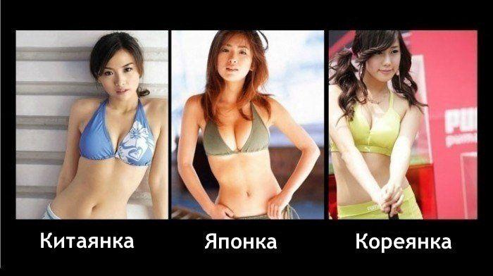 Как отличить японскую девушку (2 фото)