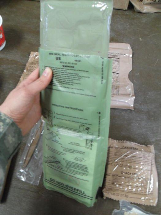 Сухой паек американского солдата (11 фото)