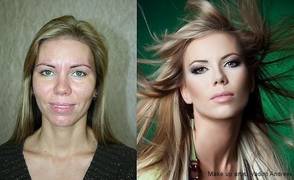 Магия макияжа (12 фото)
