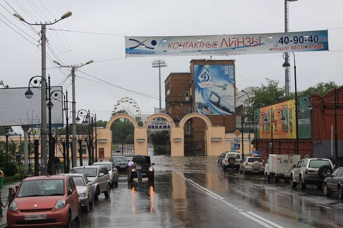 Дождь во Владивостоке (42 фото)