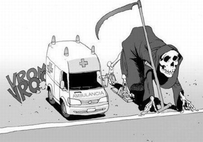 Смерть в смешных картинках