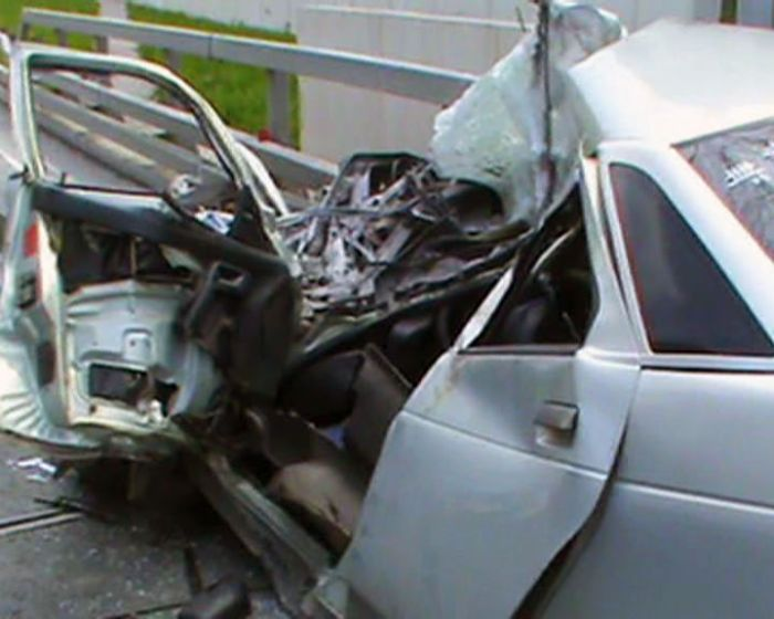ДТП на объездной дороге в Сочи по вине ДПС (3 фото + видео)