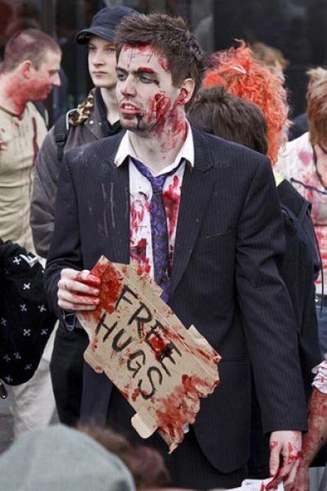 Зомби в реальной жизни (24 фото)
