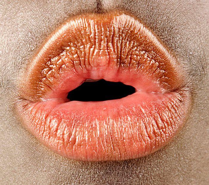 Фотографии человеческого рта (17 фото)