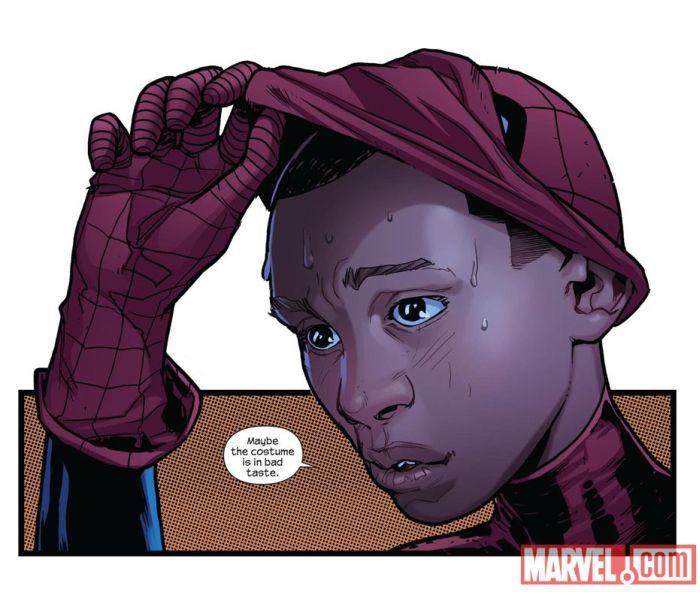 Афроамериканский Человек-паук (4 фото)