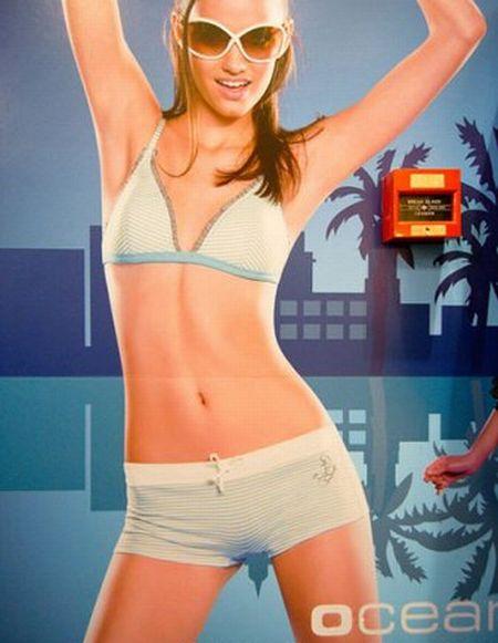 Странные рекламные снимки (19 фото)