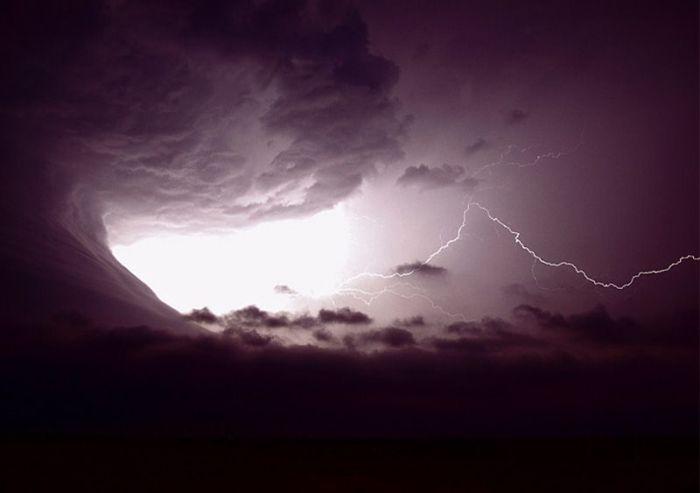 Цунами из облаков (9 фото)