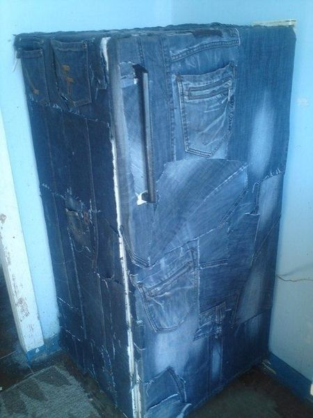 Трешевый тюнинг холодильника (4 фото)