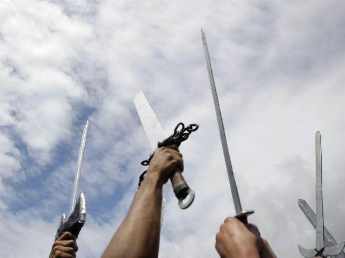 Набег викингов (13 фото)
