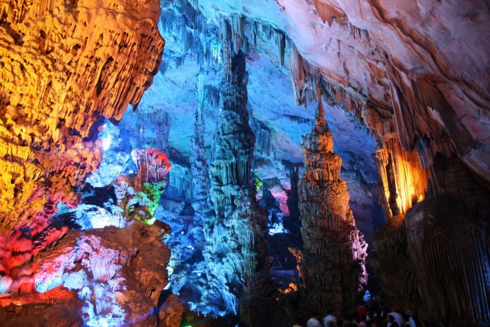 Пещера в Китае (28 фото)