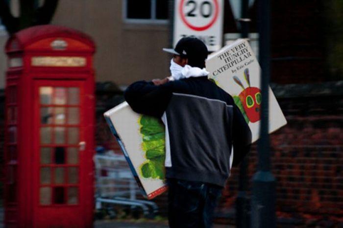 Фотожабы с участием лондонских мятежников (46 фото)