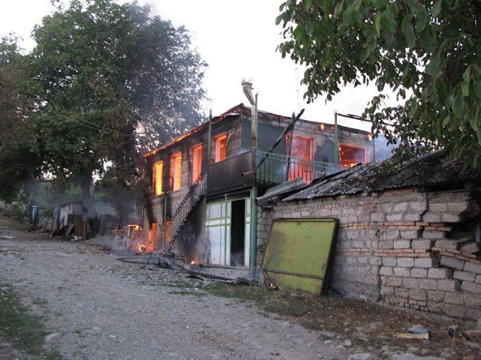 Грузино-абхазский конфликт спустя 3 года (59 фото)