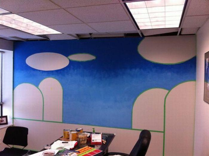 Преображение офиса (5 фото)
