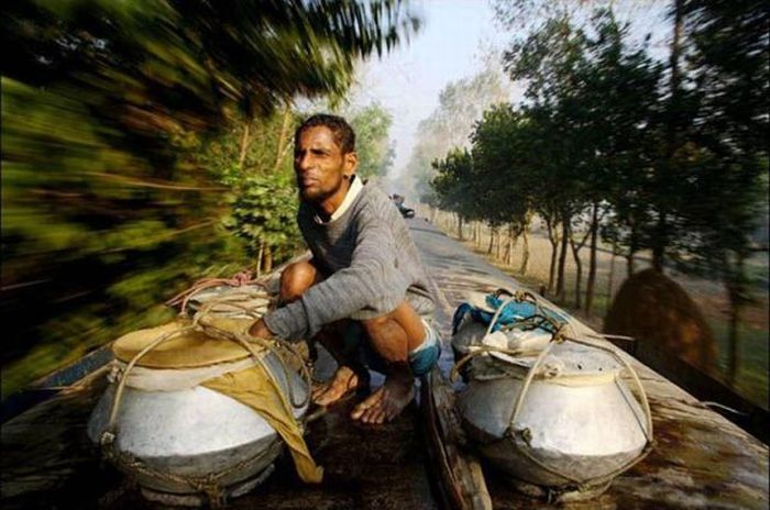 Железная дорога в Бангладеше (20 фото)