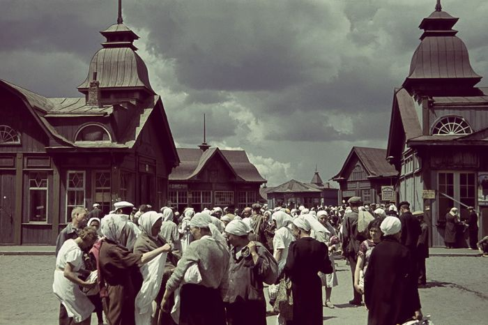 Харьков во время оккупации (25 фото)