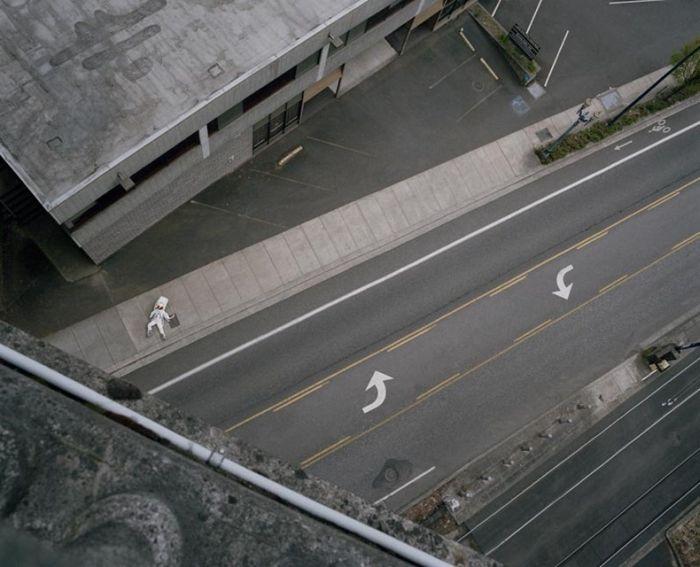 Самоубийство для астронавта (13 фото)