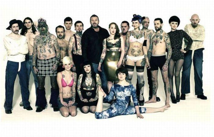 Нестандартное модельное агентство (15 фото)