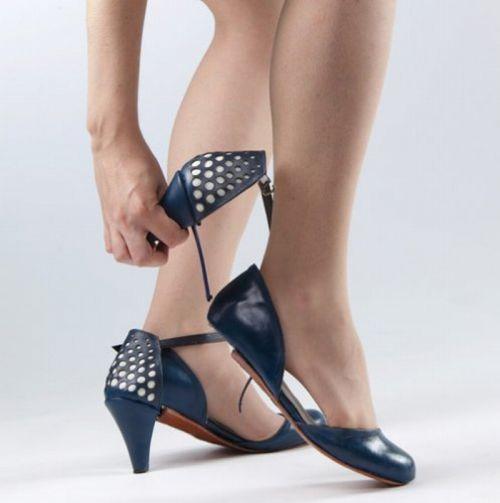 Трансформирующаяся обувь (9 Фото)