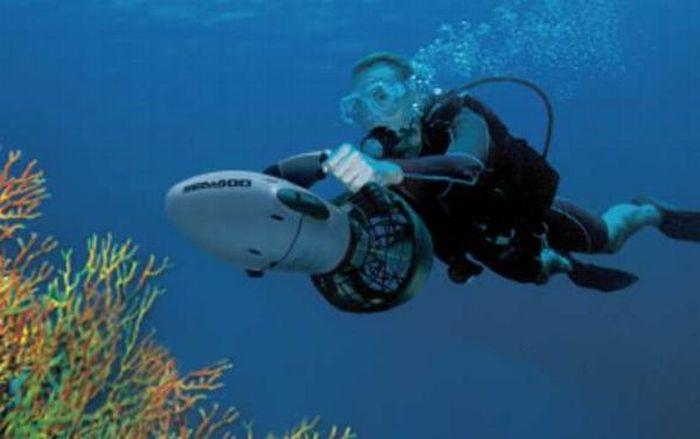 Подводные скутеры видео фото 132-81