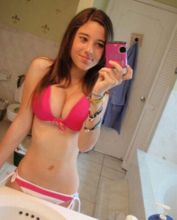 Девушки с шикарной грудью (40 фото)