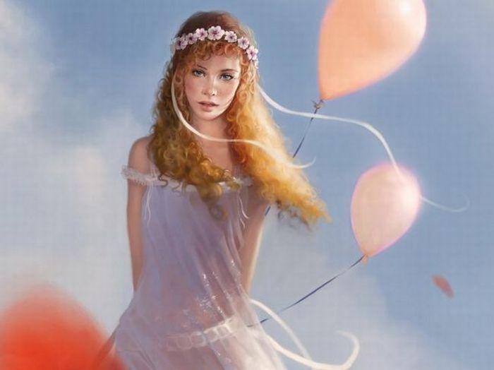 Красивые девушки из мира фэнтези (20 Фото)