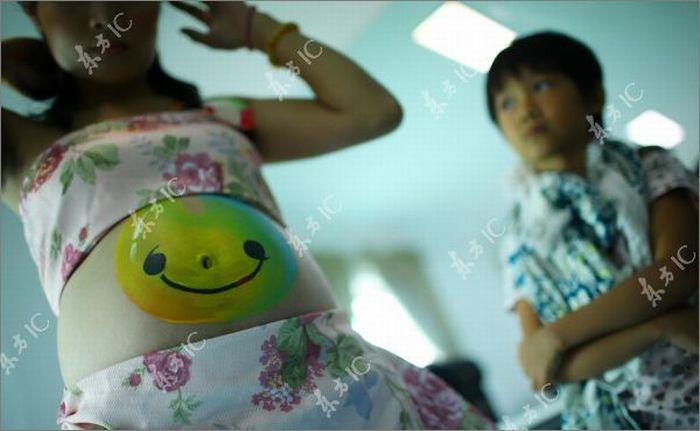 Бодиарт на беременных женщинах (25 фото)