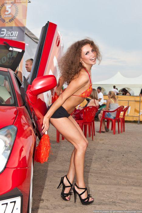 Автоэкзотика и девушки из Ярославля (40 фото)