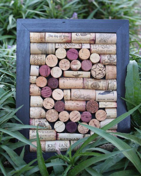Идеи оформления интерьера, Что можно сделать из винных пробок, Оформление винного отдела, Chto mozno sdelat iz probok.
