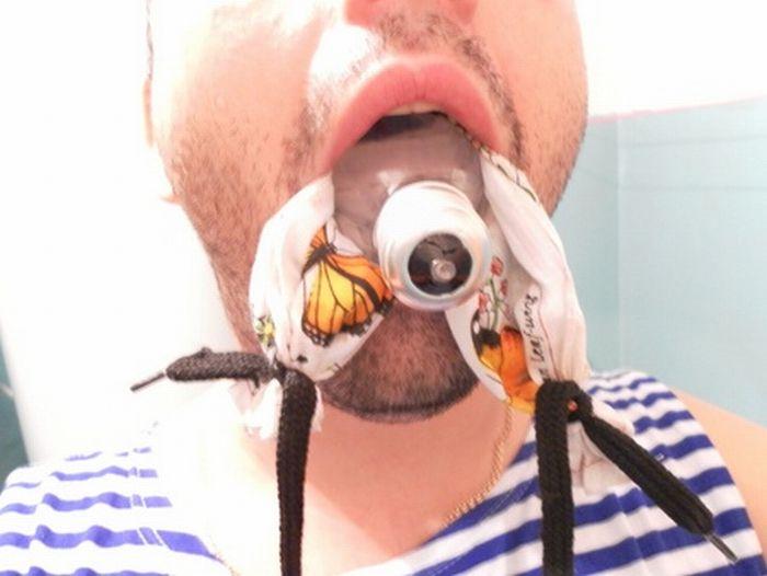 Как вытащить лампочку из рта (6 фото)