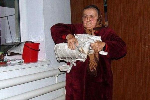 Самая сильная в мире бабушка (5 фото)