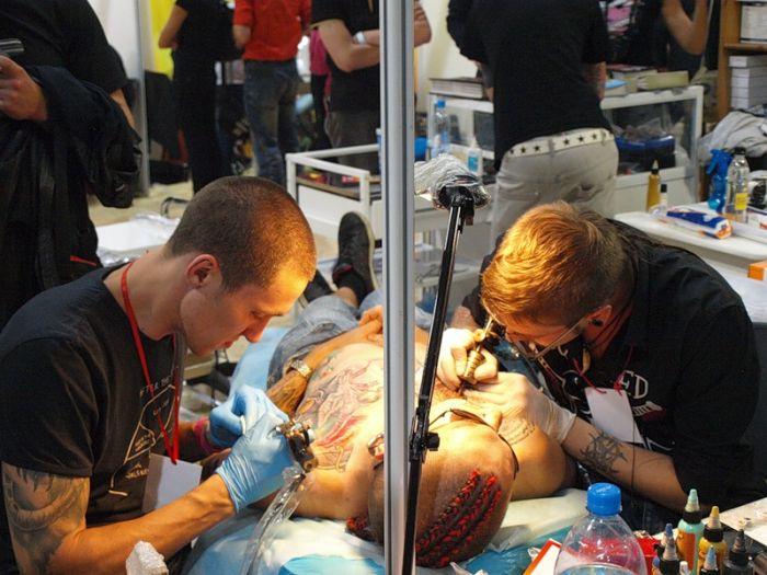 Фестиваль татуировок в Новосибирске (47 фото)