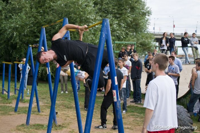 Соревнования Street Workout в Чебоксарах (92 фото)