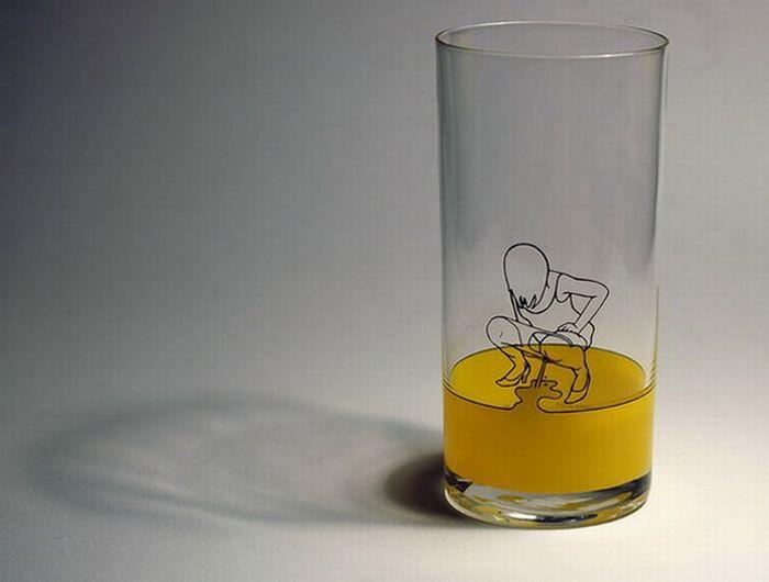 Креативные стаканы (31 фото)