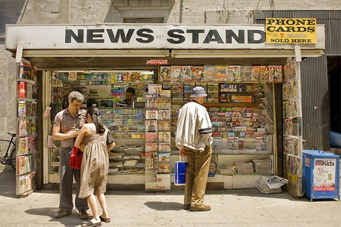 Киоски Нью-Йорка (37 фото)
