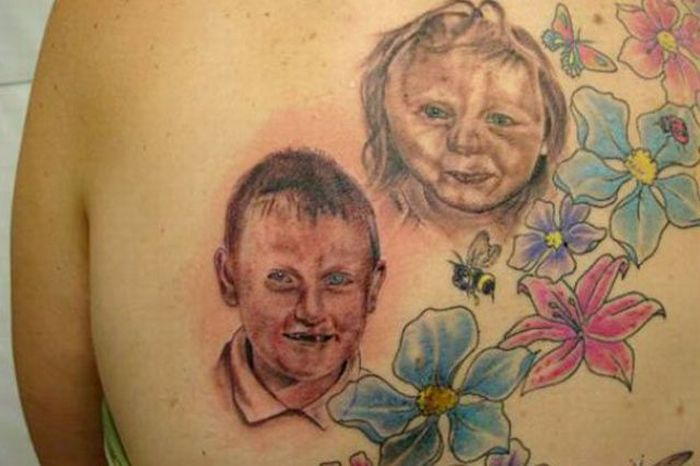 рисунки тату для детей