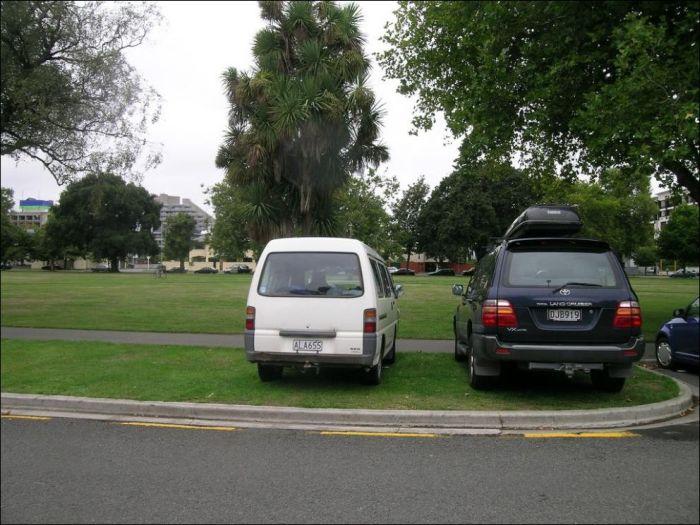 Я паркуюсь как … (26 фото)