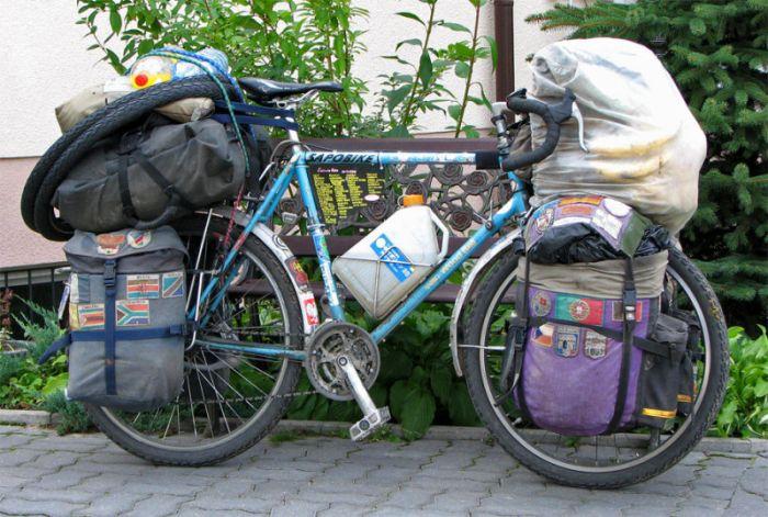 Велосипеды путешественников (12 фото)