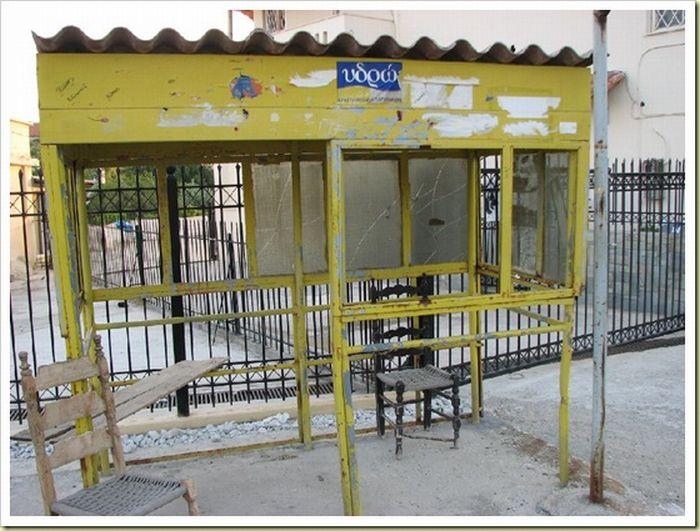 Автобусные остановки (18 фото)
