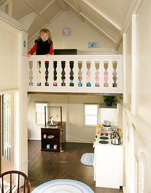 Креативный игровой домик для детей (11 фото)
