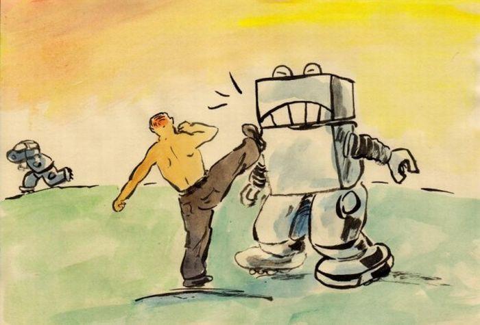 Карикатуры про путина (10 картинок)