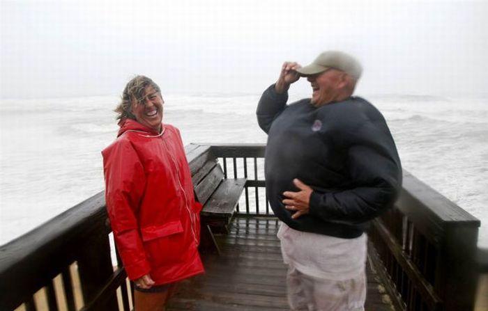 Позитив во время урагана (38 фото + видео)