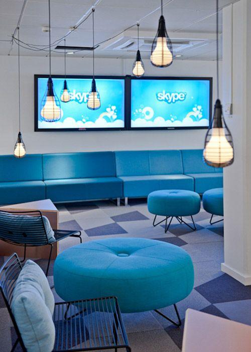 Новый офис компании Skype (22 фото)